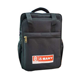 Black Printed Office Marketing Bag