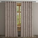 Plain Eyelet 7 Feet Linen Curtain, For Door