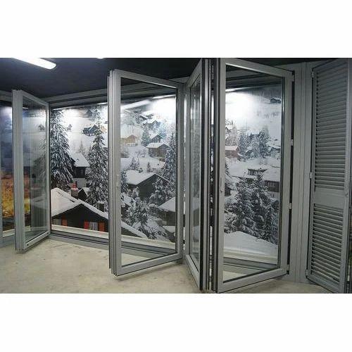 Aluminium Folding Door at Rs 500 /square feet | Aluminium Foldable ...