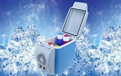 Baleno Esca Portable Mini Fridge Car Refrigerator Cooler Warmer Food Drink 7.5 L