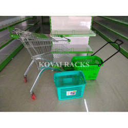 Normal basket and trolley