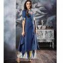 Blue Palazzo Suit