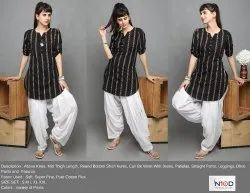 Round Short Bottom Kurtis