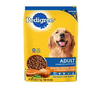 Pedigree Dry Dog Food Adult Roasted Chicken Rice
