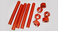 A193 B7 PTFE Coated Hex Cap Screws