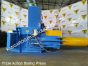 Triple Action Scrap Baling Press