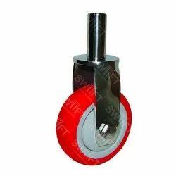 Pin Mounting PU Caster Wheel