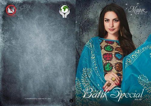 79cf81ac12 Cotton Mayur Batik Special Salwar Suit, Rs 305 /piece, Womens ...