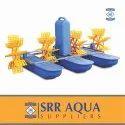 Fish Farming Aerators Aquaculture 1HP-4 Paddle Wheel Aerator - 40% Power Saver
