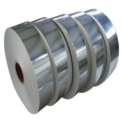 Silver Coated Silver Dona Paper Roll, GSM: 100 to 150