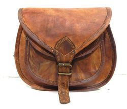 Ladies Leather Bag, Ladies Purse, Handbag, Women's Leather Bag, Vintage Leather Bag, Handmade Bag