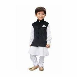 Binnani Casual Wear Kids Kurta Pyjama with Jacket