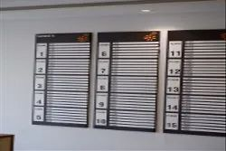 Aluminium Wall Mounted Directory Signs Board, Size/Dimension: 4ft X 6ft