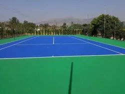 Acrylic Synthetic Court Flooring Service
