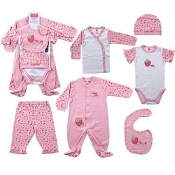 Casual Wear Pink New Born Child Clothes