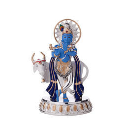 Cow Krishna God Idols