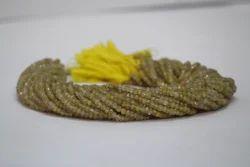 Natural Golden Rutilated Quartz Beads