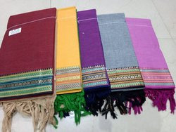 Plain Handloom South Cotton Dress Material