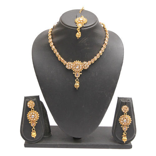 necklaces marriage little gold designs india trends fashion necklace latest