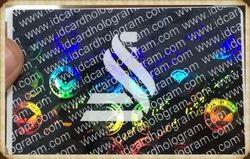 Transparent Hologram Overlay Plastic Cards