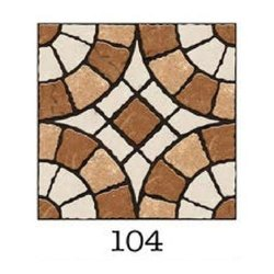 Matt Ceramice 1 x 1 feet Parking Tiles, Thickness: 5-10 mm