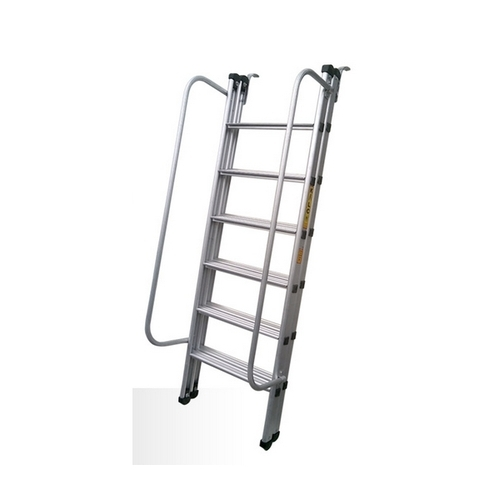 Kalco Il-k-7025 4mm Side Railings Double Section Aluminum Ladder ...