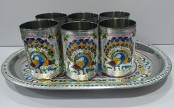 Meena WORK Steel Glass Set