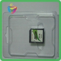 Transparent Memory Card Blister Packaging