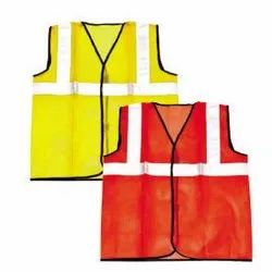 Cotton High Visibility Safety Jacket, for Traffic Control