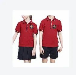 Red, Black School Dresses