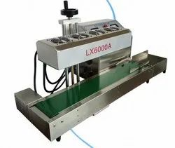 LX 6000A Stainless Steel Continuous Induction Sealing Machine