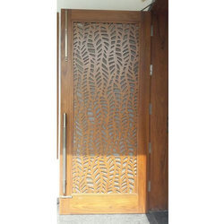 Wood Modern Wooden Hinged Door