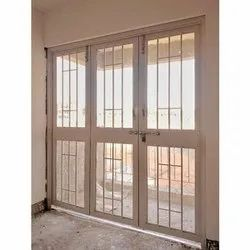 Galvanized Steel French Designer Door