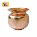 Ashoka Polished Copper Lota