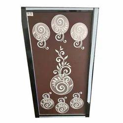 Painted Door Glass