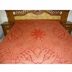 Antique Wool Bed Sheet Fabric