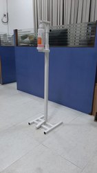 Floor Mounted Foot operated sanitizer machine