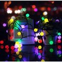 Hardoll White Ball Solar Decorative String Light for Diwali season (Diwali Decorative light)