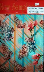 African Digital Print D.no. 6017 Fabric
