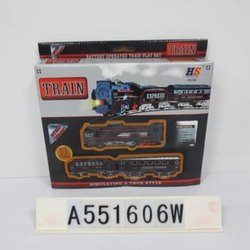 HS Black and Blue Kids Battery Operated Express Train Set, For Kids, Model Name/Number: A551606w