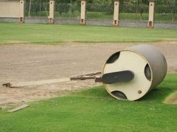 Cricket Pitch Roller 1.5 Ton METCO 8243