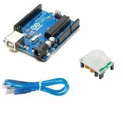 Robocraze Arduino Uno R3 with USB Cable and PIR Sensor