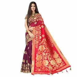 J16 Wedding Wear Khadi Silk Saree