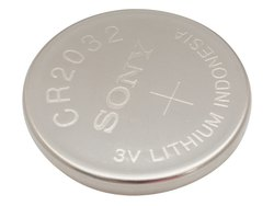 Sony CR 2032 Lithium Coin Cell Battery