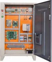 Three Phase Mild Steel Elevator Control Panel Two Speed Manual Door D03