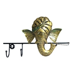 Ganesha Wall Hook Hanger Home Decor