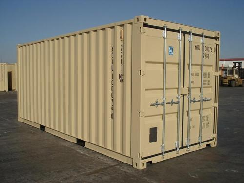 Galvanized Steel Dry Storage Shipping Container Capacity 40 Ton