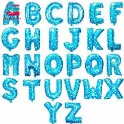 A to Z Alphabet Foil Balloons