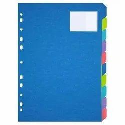 1 to 10 Plastic File Separator