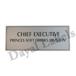 Steel Brass Aluminum Nameplates